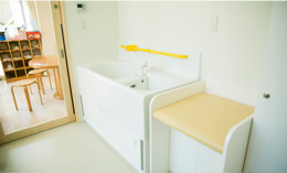 子ども用シャワー室