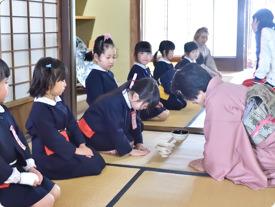 設定保育 茶道教室